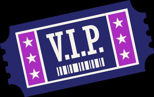 VIP 50/50 Raffle Ticket Image