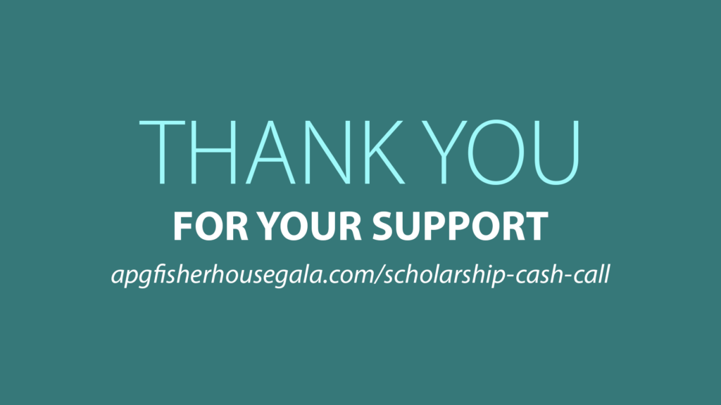Scholarship Cash Call with Brian Gwane of Fisher House