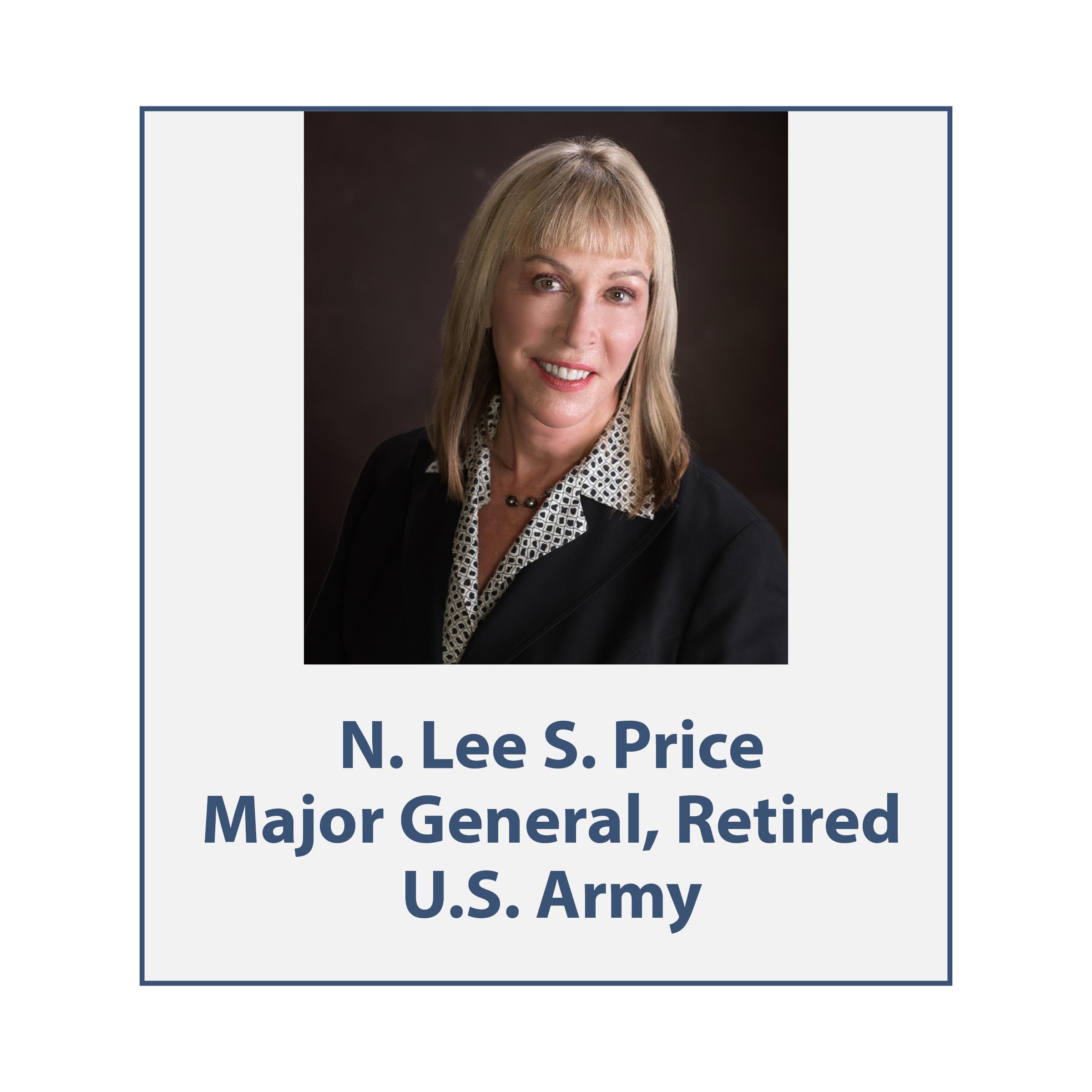 Maj Gen Retired N. Lee S. Price